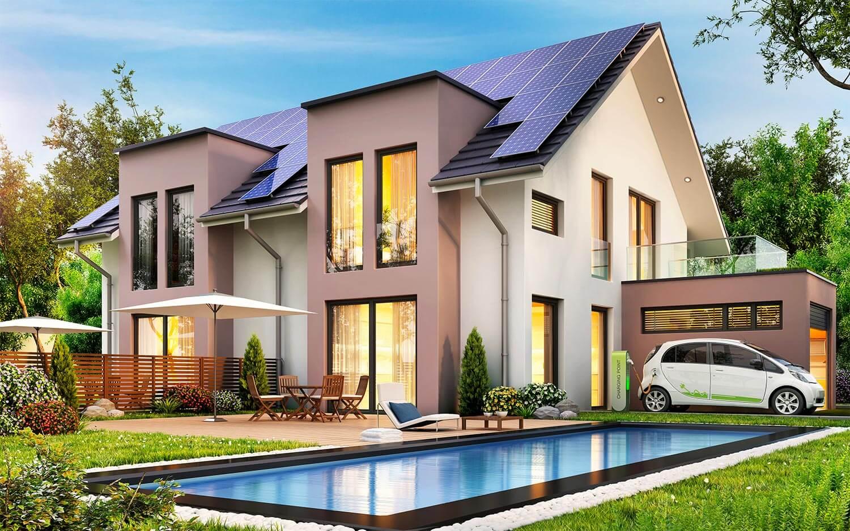 panneaux photovoltaïques maison
