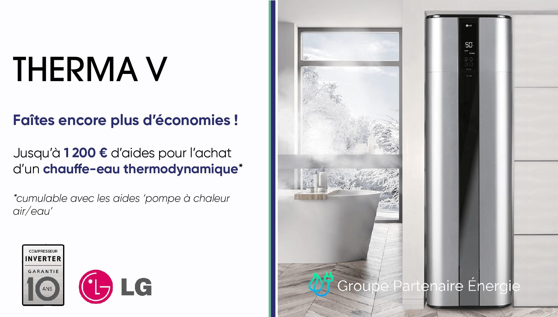 LG Therma V Chauffe-eau thermodynamique